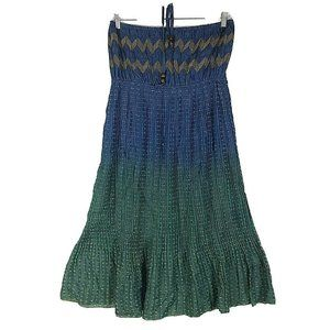 Millenium Womens Size XL Dress Sundress Chambray